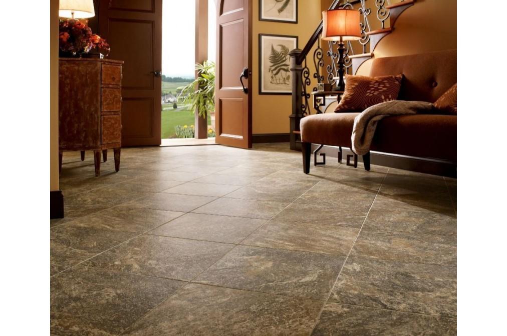 Вінілова плитка для підлоги і стін