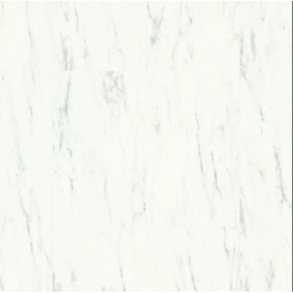 Виниловая плитка Marble carrara white