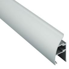 Алюминиевый плинтус Braz выпуклый 35 мм