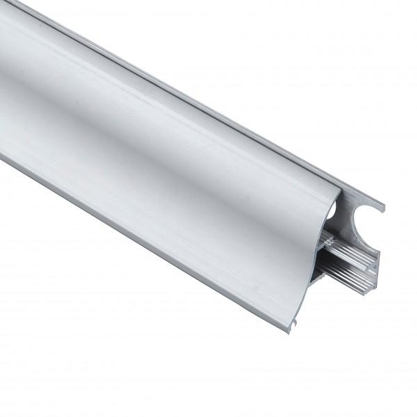 Алюмінієвий плінтус Braz вогнутий 35 мм