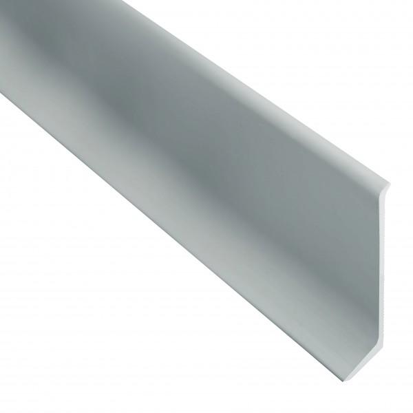 Алюминиевый плинтус Braz накладной 80 мм