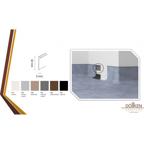 Финишный профиль Dollken EL-3,5 для завода PVC