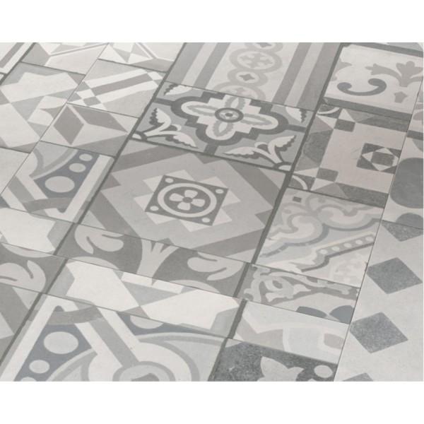 Виниловая плитка Орнамент сірий