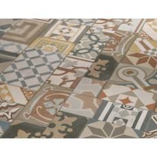 Виниловая плитка Орнамент цветной