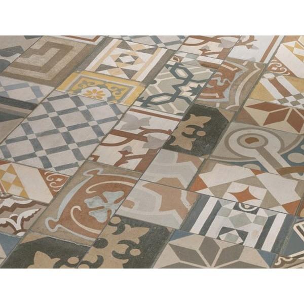 Виниловая плитка Орнамент кольоровий