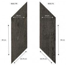 Виниловая плитка Forbo Effekta Professional 4042PR-PL Black Fine Oak