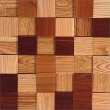 Деревянная Мозаика Tessera Natural Микс