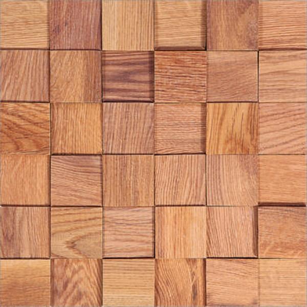 Деревянная Мозаика Tessera Natural ДУБ
