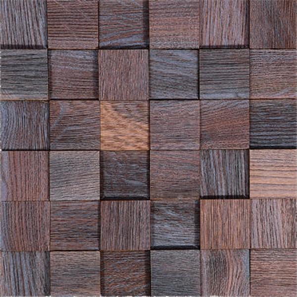 Деревянная Мозаика Tessera Thermo Wood Дуб Ice