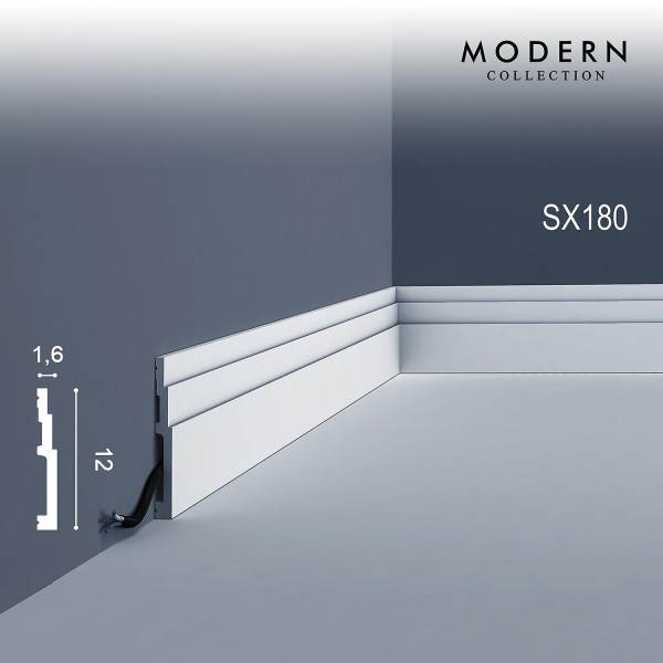 Плинтус Orac Modern SX180