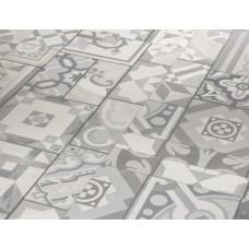 Виниловая плитка Орнамент серый