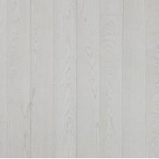 Паркетна дошка Дуб GRAND MARBLE 1х, 2V, сніжно-білий лак