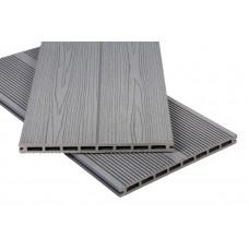 Террасная доска Polymer & Wood Privat Серый
