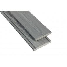 Террасная доска Polymer & Wood  Massive  Серый