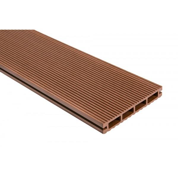 Террасная доска Polymer & Wood Lite Мербау