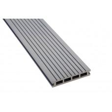 Террасная доска Polymer & Wood  Premium  Серый