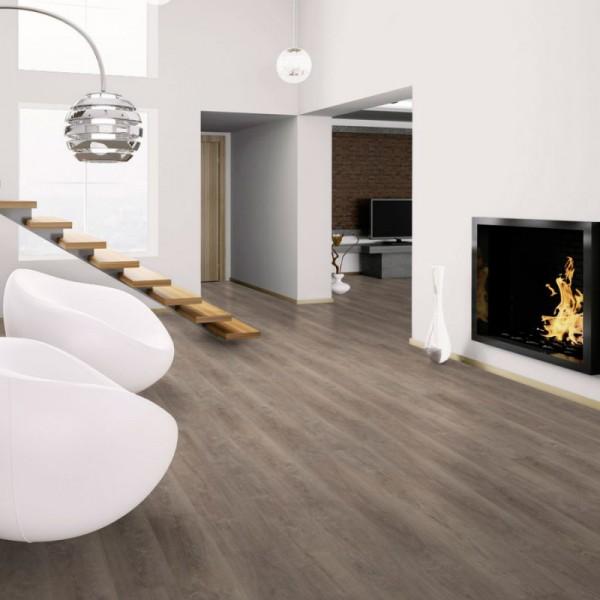 Виниловая плитка Wineo 600 DB Wood Aurelia Grey
