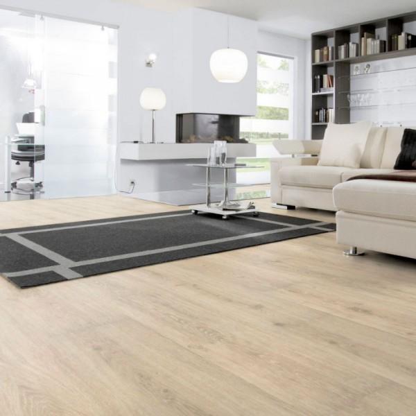 Виниловая плитка Wineo 600 DB Wood XL Victoria Oak white